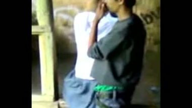 Uniform worn student outdoor sex