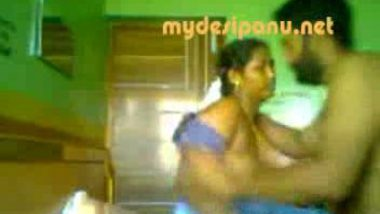 Madurai sexy bhabi anjum with her lover mms clip