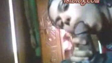 Indian village girl sucking her neighbor's dick