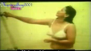 white bra and panty punjabi aunty in bathroom sexy bath