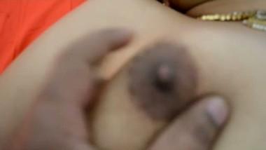 Desi Wife Boob Massage By Neighbor