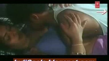 Desi romance hot sharmili in blouse and petticoat on bed