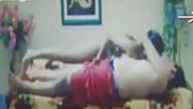 Mallu college girl riding top on lover for sex in mallu masala movie