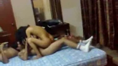 Desi college girl first time hidden cam sex with lover in hostel room