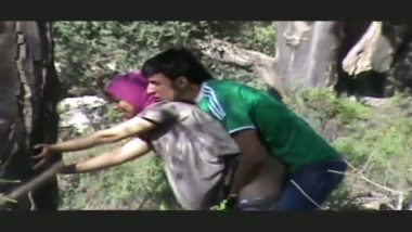 Pakistani muslim college girl outdoor anal sex with lover