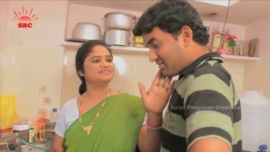 Mallu bbw aunty romances hubby's friend in kitchen