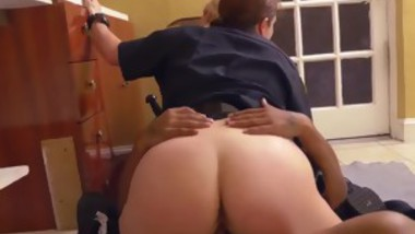 Chubby black girl Black Male squatting in home gets our mummy