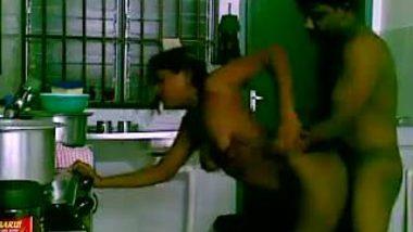Devar fucking bhabhi in desi hidden cam home sex