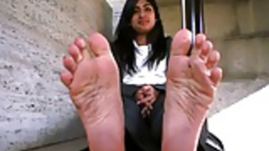 Smelly sweaty Indian Soles out of ballerinas