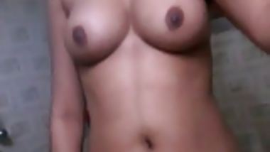 Bangladesi Hindu girl self shoot