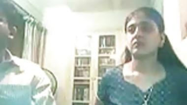 Tndian Couple On Webcam