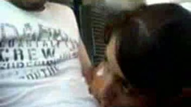 NRI house wife blowjob video recorded in a bus.