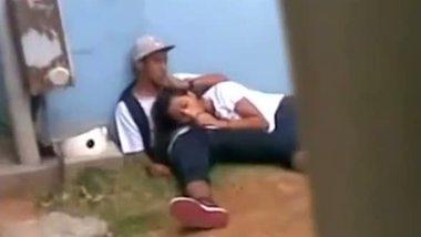 Desi college girl's outdoor hot blowjob video