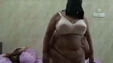 Big breast hijab aunty having sex with her lover