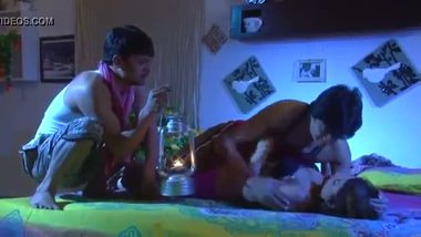 Hot threesome sex scene from Bollywood masala