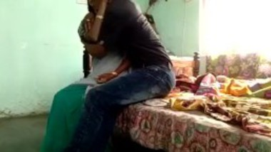 Desi aunty could not resist when her son bangs her