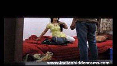 Secret cam footage of desi college girl