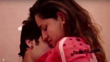 Hot romantic scene from the Hindi movie