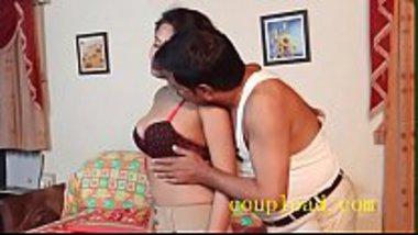 Sexy secretary having sex with her boss