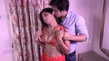 Savita bhabhi seducing her guest at home