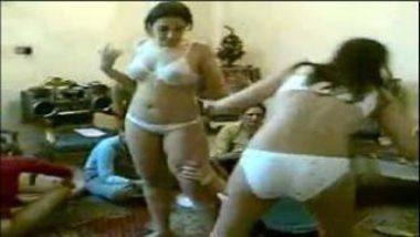 Hot Bhabhis From Punjab Dances Wearing Bikini At Home