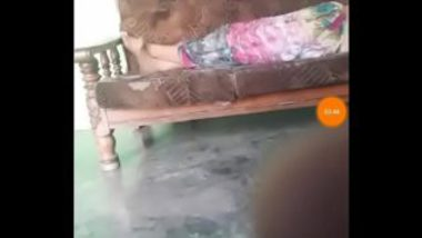 Recording tamil aunty ass and pussy while sleeping