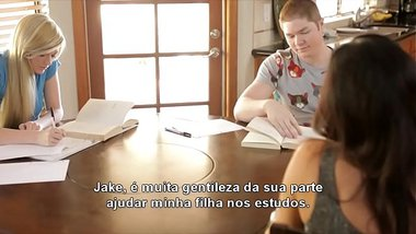 As Aventuras do Jake: Estudando na casa da amiga