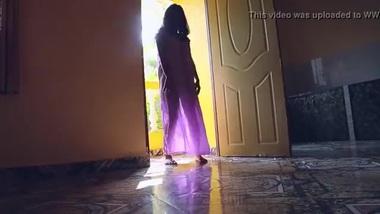 Tamil girl dancing in transperent nighty boobs...